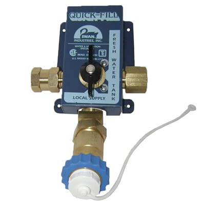 Swan City Water Valve For Use On Motorhome Rv I Wsv150